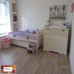 פרקט למינציה אפרפר בחדר ילדים