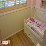 פרקט פולימרי בחדר ילדים
