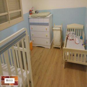 פרקט למינציה פרימיום בחדר ילדים